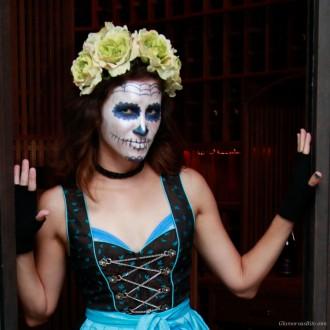 Halloween Corina Dia de Muertos