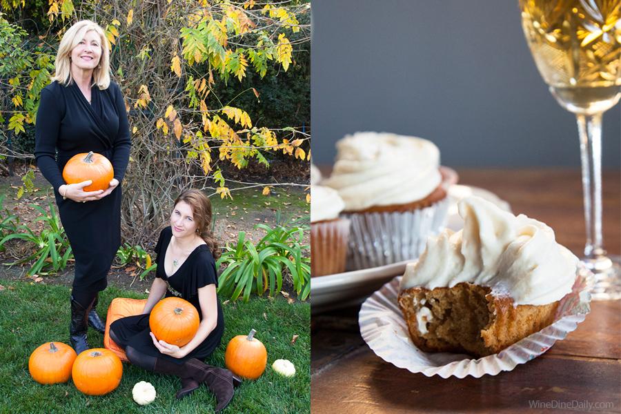 Judit Corina Pumpkin Cupcakes