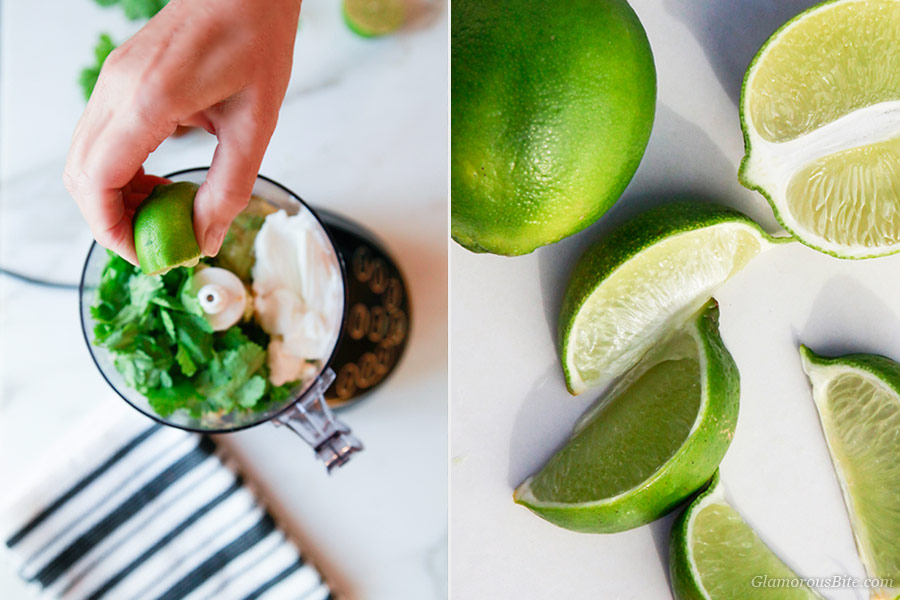 Lime Avocado Crema Recipe