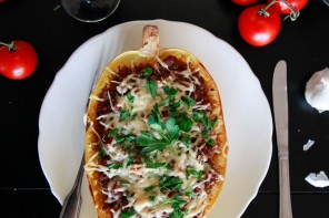 Stuffed Spaghetti Squash Recipe
