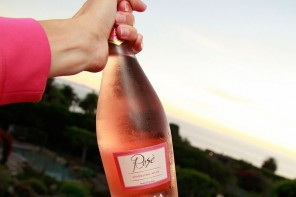 Bolla Sparkling Rosé at Sunset
