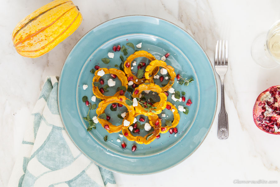 Delicata Squash Pomegranate recipes