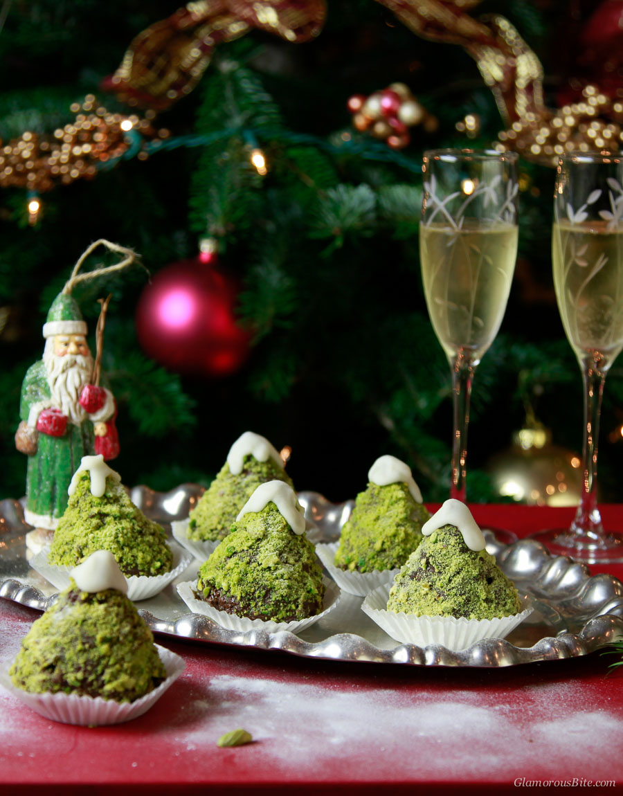 Chocolate Christmas Tree Cupcakes Recipes