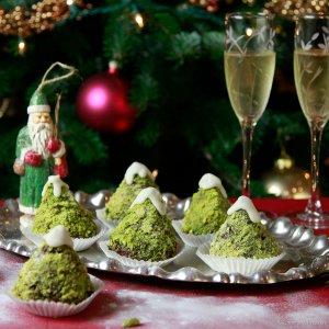 Chocolate Christmas Tree Cupcakes Recipes
