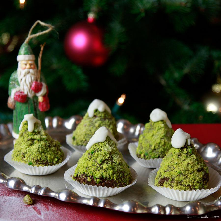 Chocolate Tree Cupcakes Recipe