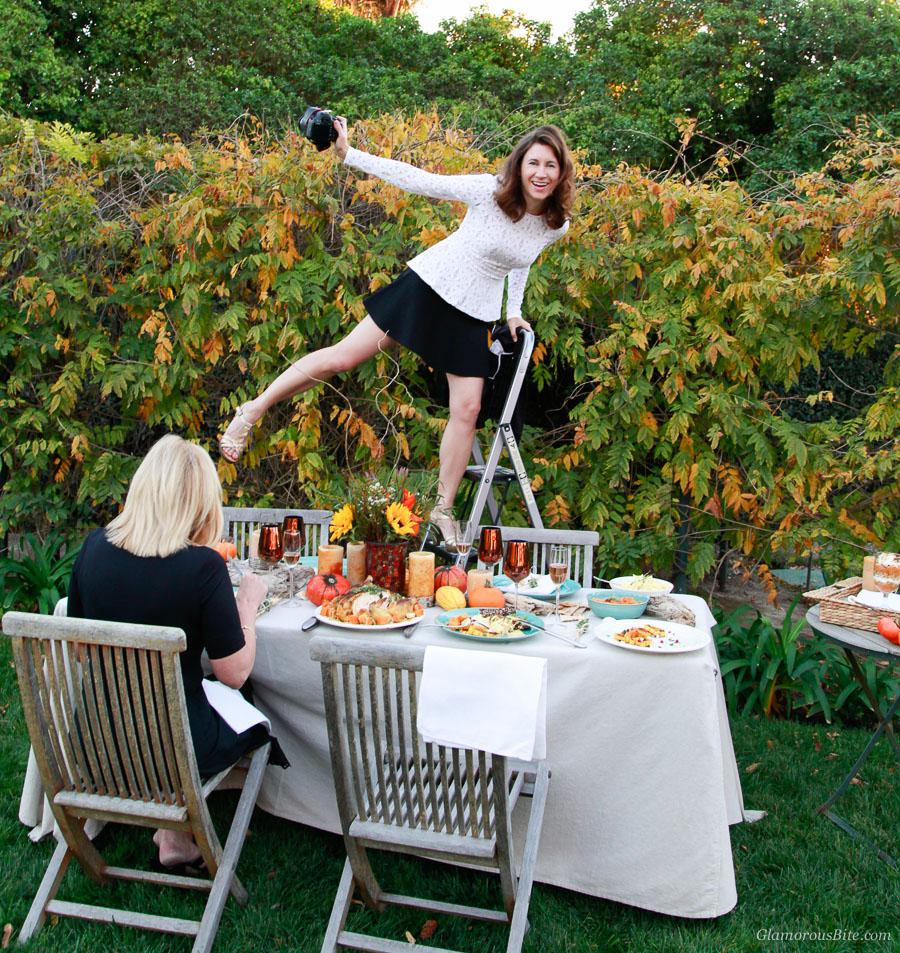 Corina Flying Table Setting