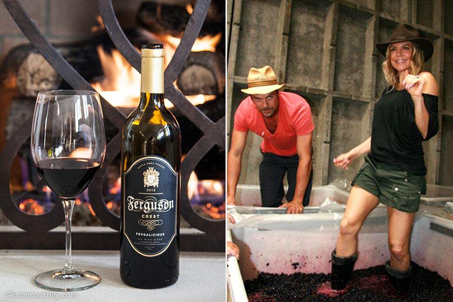 Fergie Josh Duhamel Ferguson Crest Wine Fergalicious