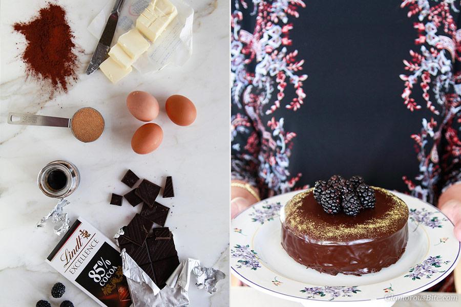 Flourless Chocolate Cake Recipe Lindt Chocolate