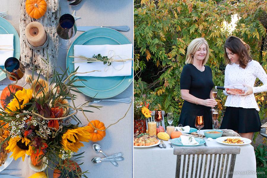 Judit Corina J Rose Dinner