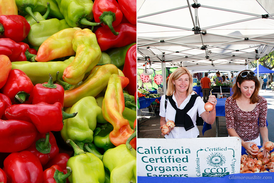 Santa Barbara Farmers Market Peppers Judit Corina