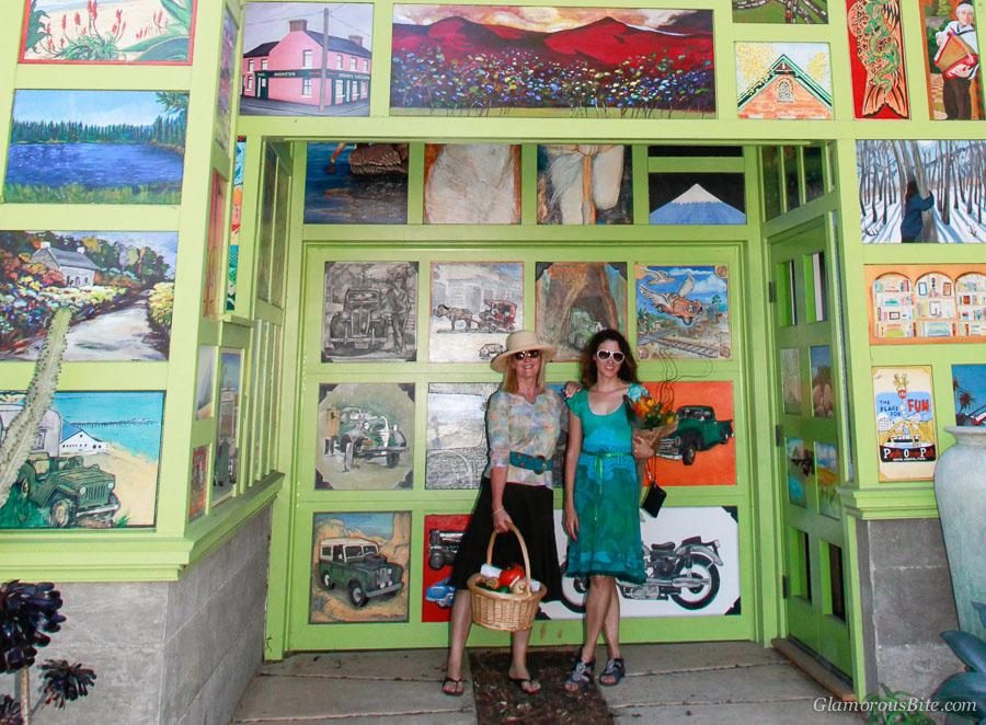 Santa Barbara Vera Cruz House Art