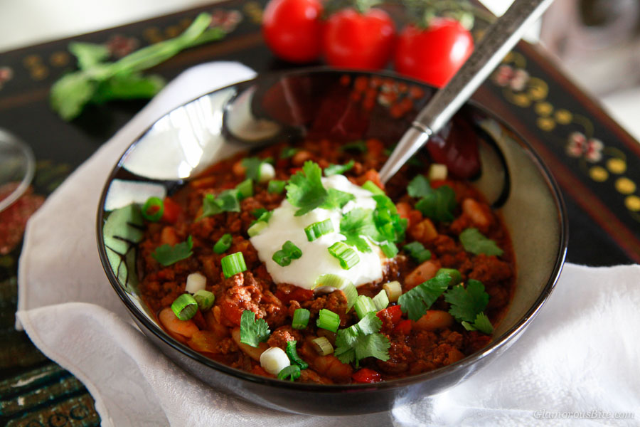 Chicken Chili with Beer