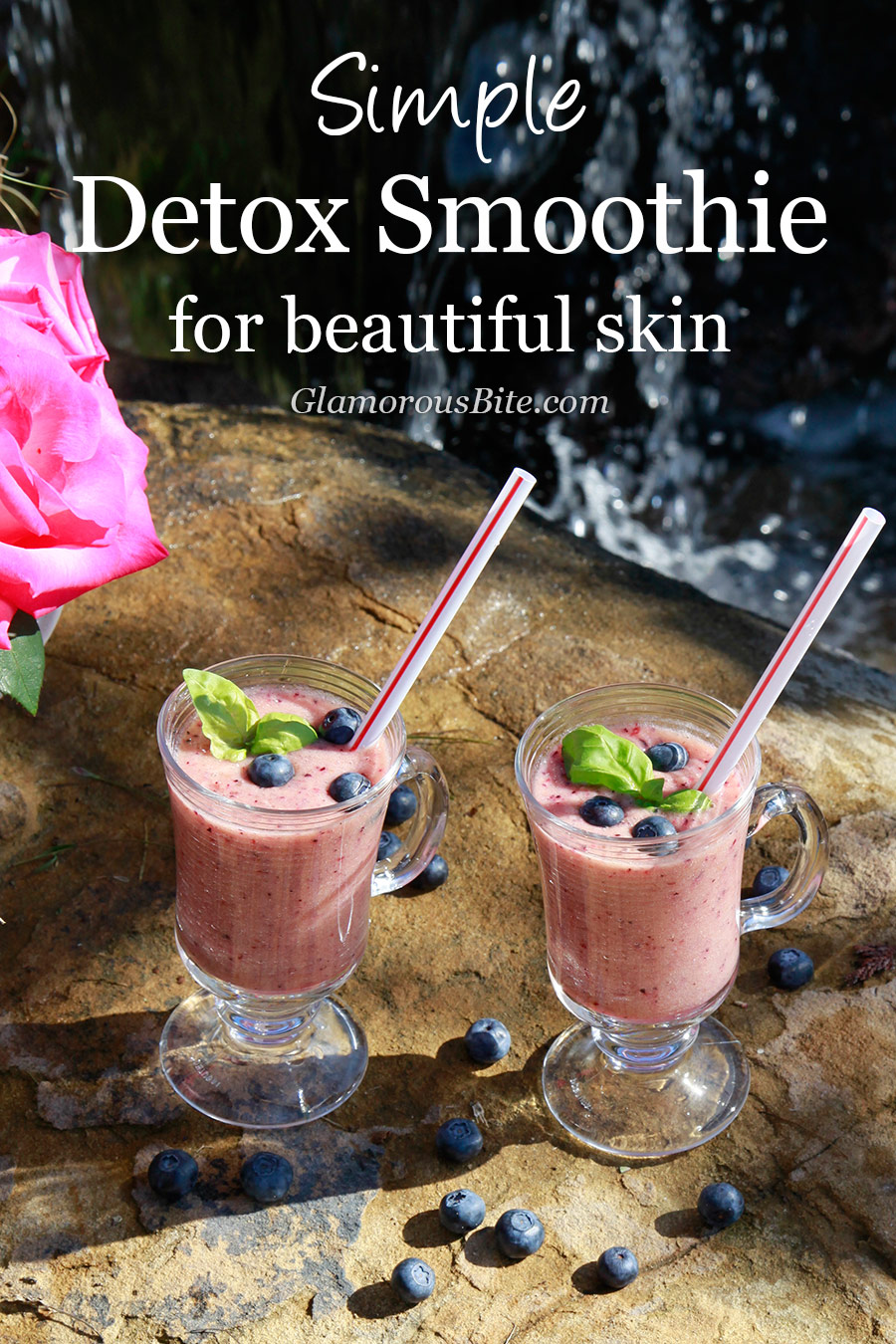 Healthy Simple Detox Smoothie Recipe Beautiful Skin Healthy