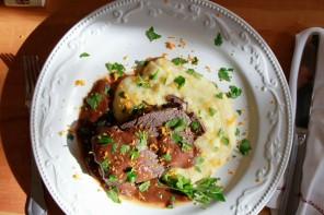 Wine Braised Beef Shoulder with Root Vegetables Recipe