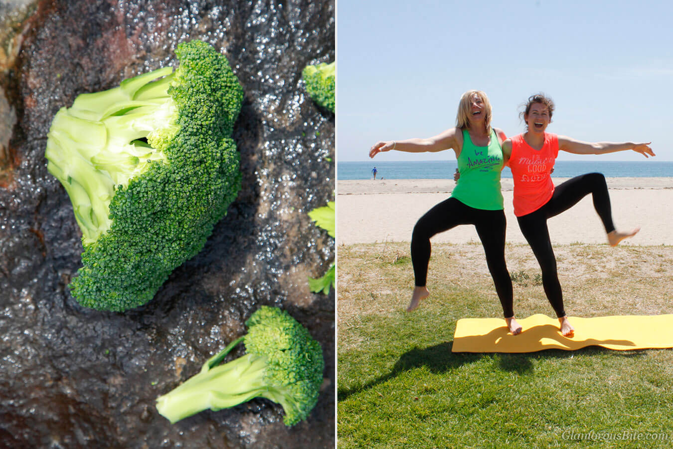 Broccoli and JC Yoga Fun