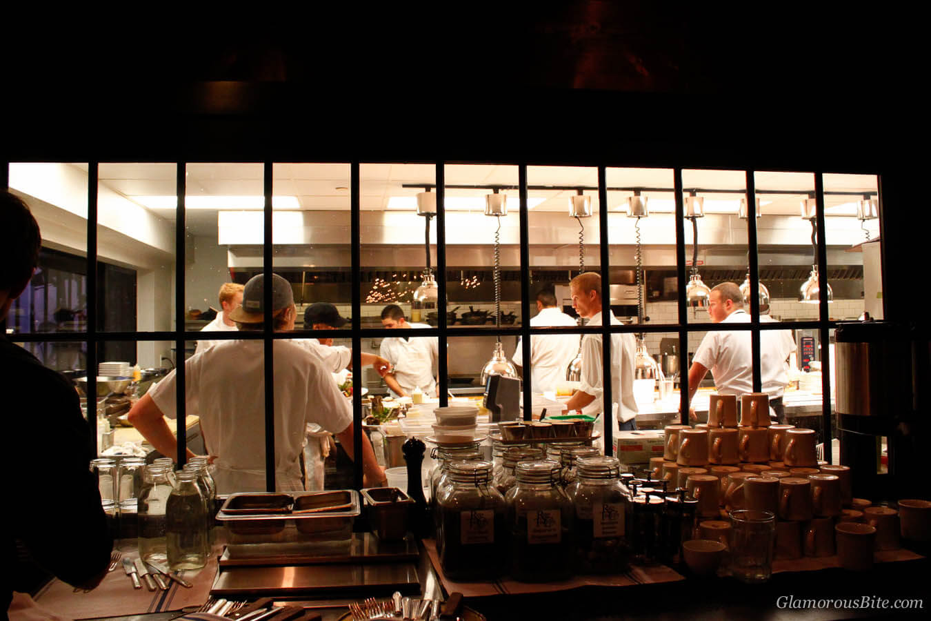 Chef Kitchen The Lark Santa Barbara Restaurant