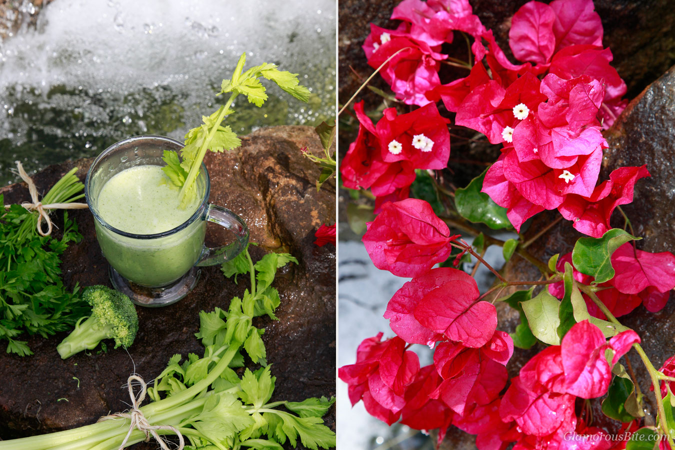 Green Smoothie Detox and Flowers
