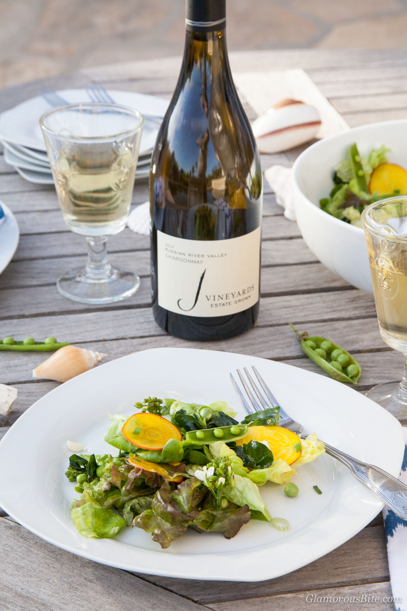 J Vineyards Chardonnay Food Pairing