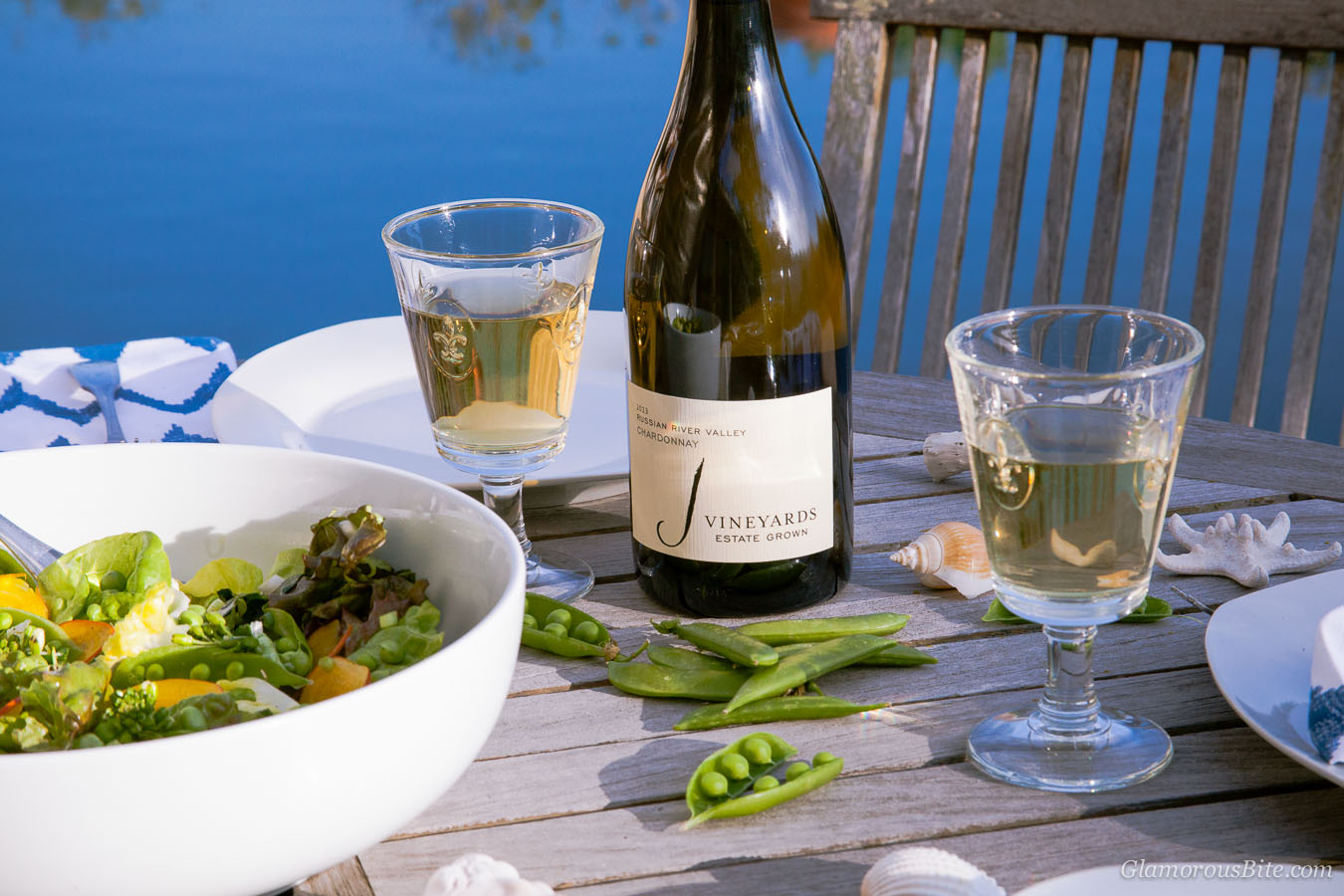 J Vineyards Chardonnay Salad