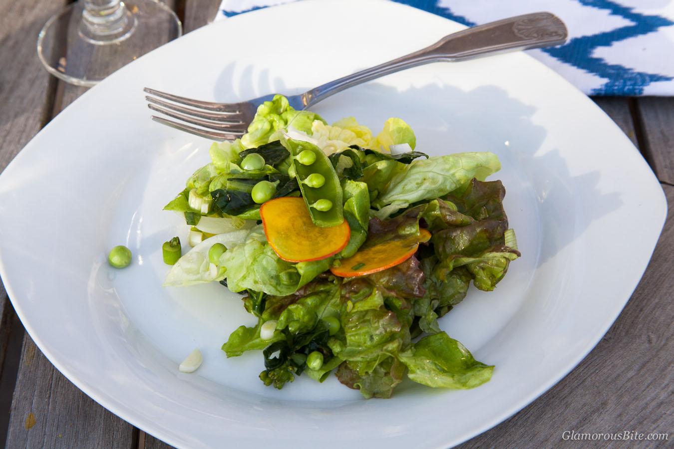 Salad Recipe Snap Peas