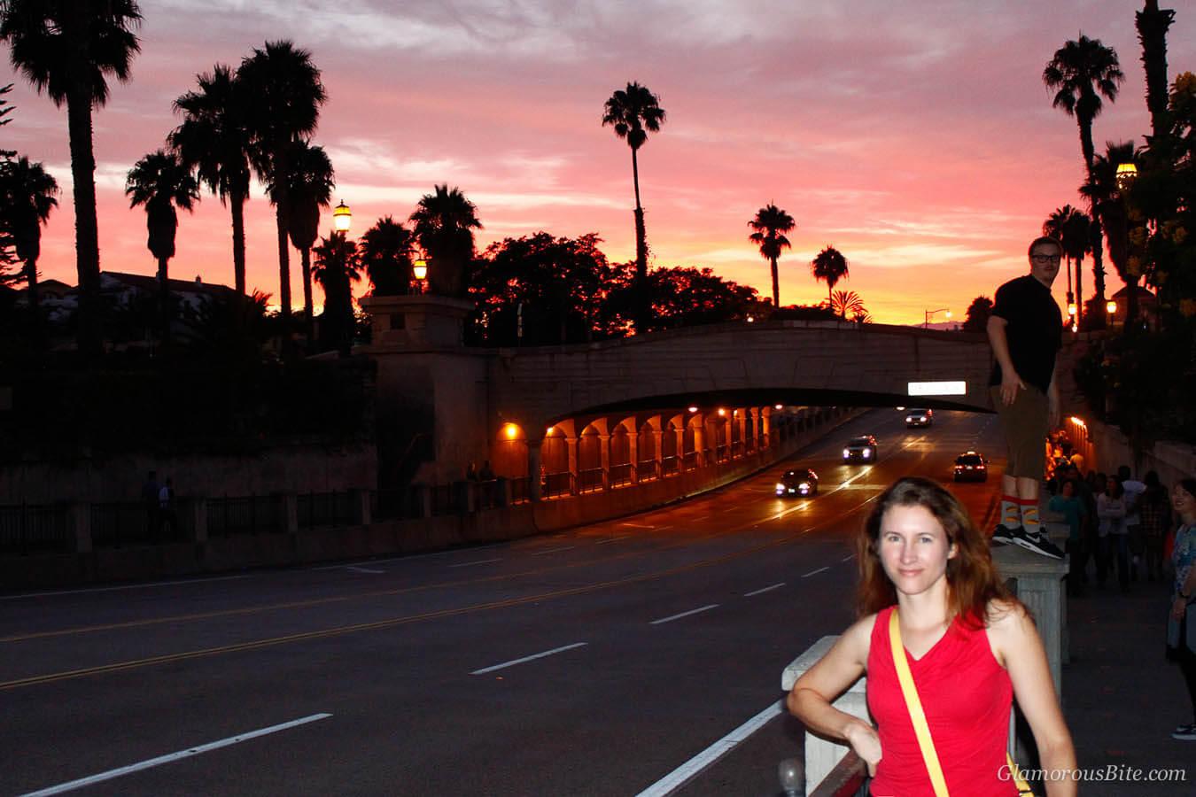 Santa Barbara Sunset State Street