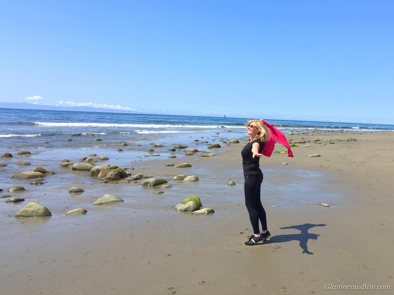Judit Santa Barbara Butterfly Beach